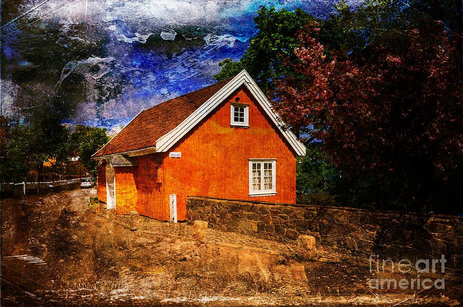 House Photograph - Edvard Munchs House by Randi Grace Nilsberg
