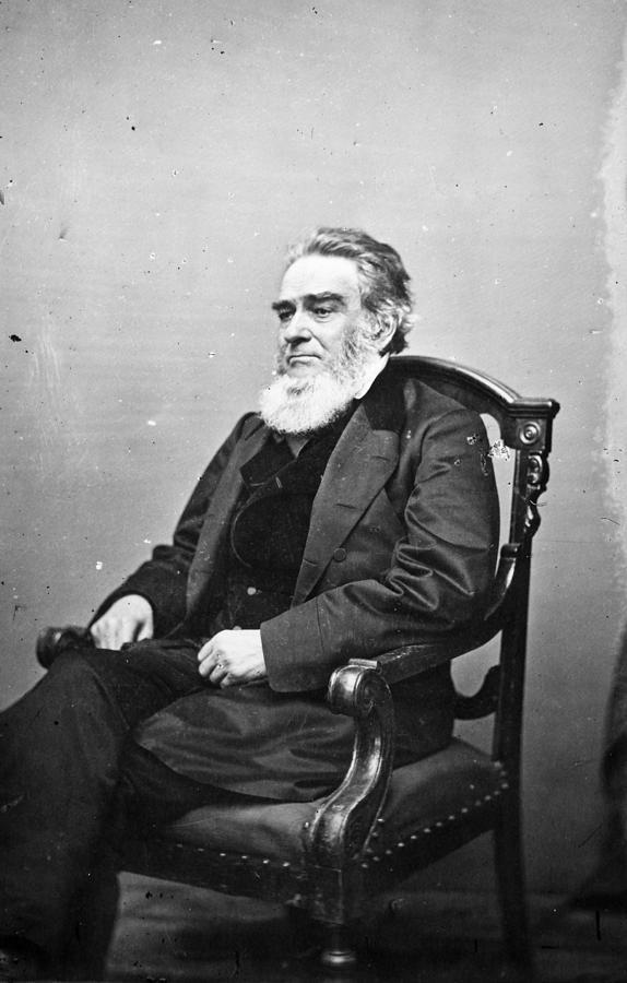 19th Century Photograph - Edward Bates (1793-1869) by Granger