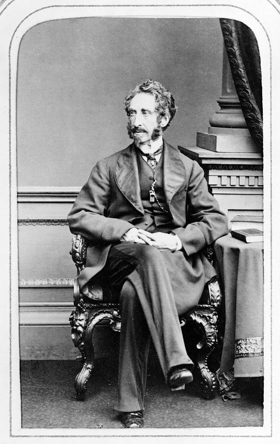 1860s Photograph - Edward Bulwer Lytton (1803-1873) by Granger