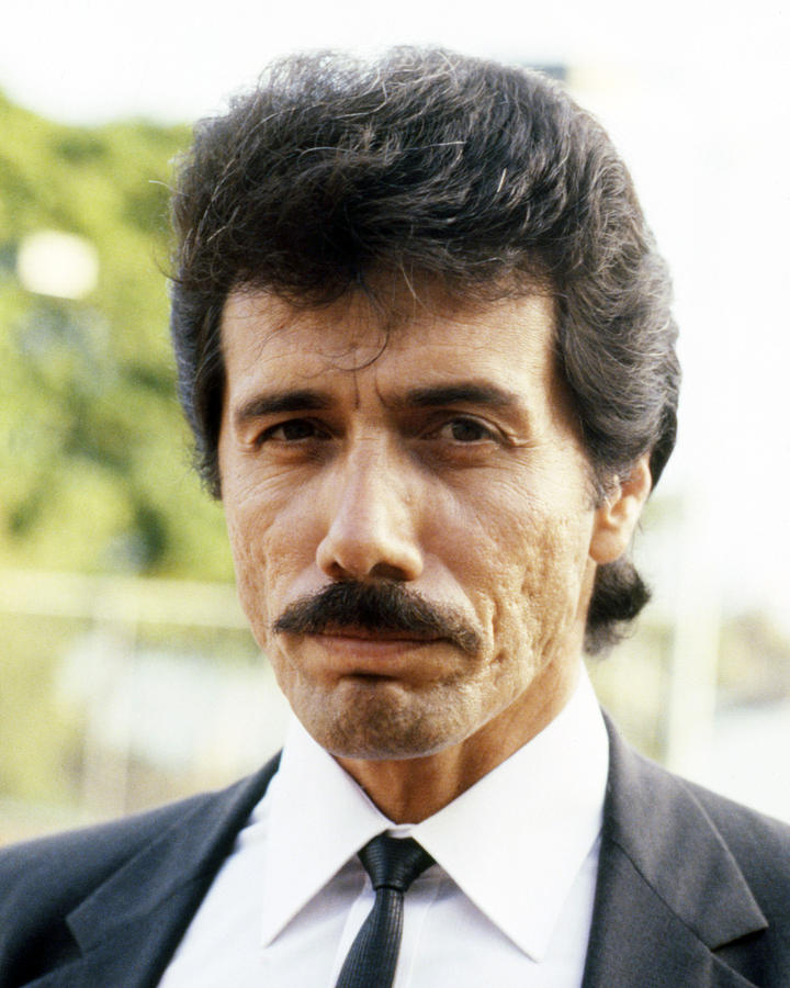 Miami Vice Photograph - Edward James Olmos In Miami Vice  by Silver Screen