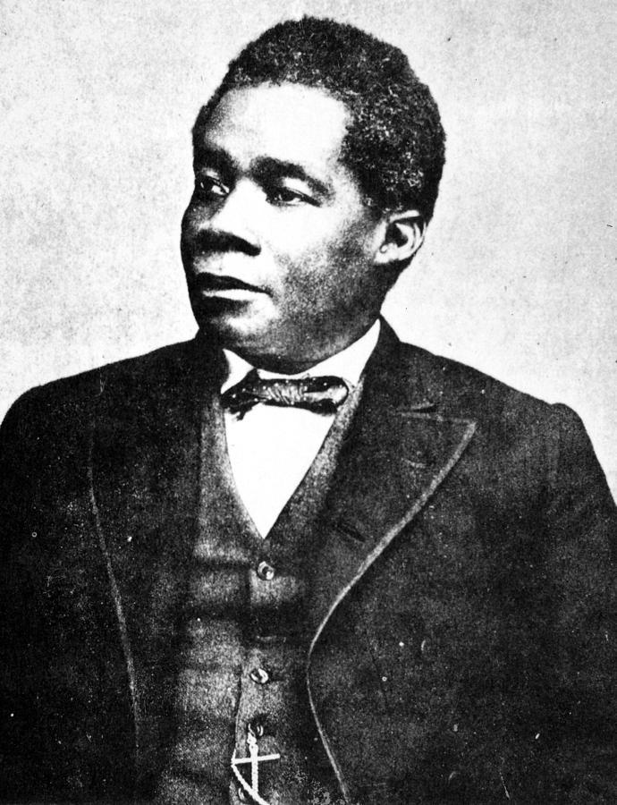 1880 Photograph - Edward Wilmot Blyden (1832-1912) by Granger