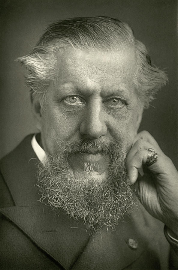1893 Photograph - Edwin Arnold (1832-1904) by Granger