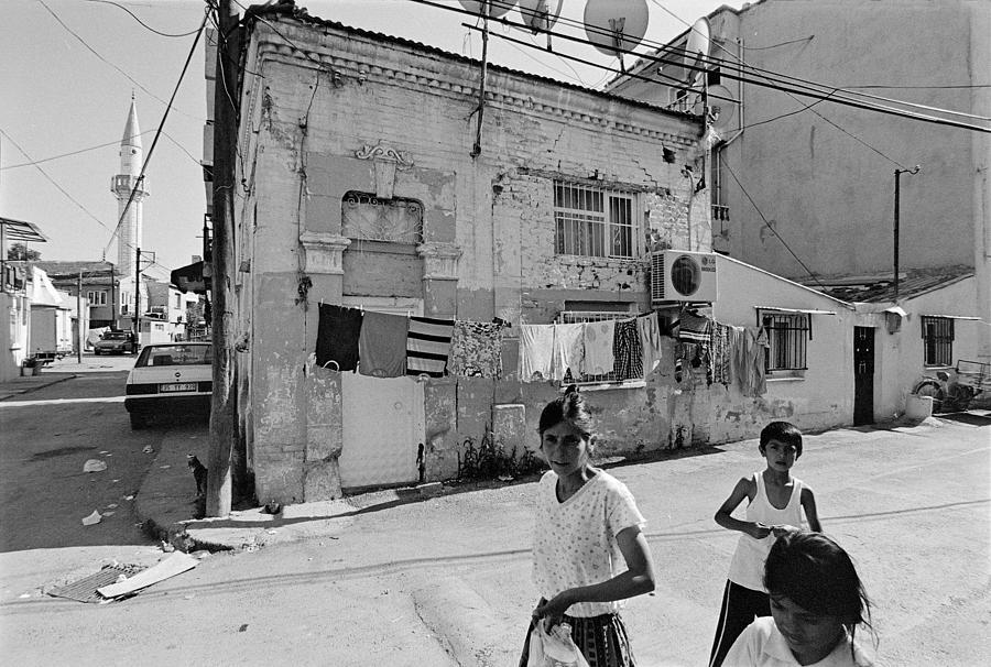 Street Photography Photograph - Ege Neighborhood In Izmir In Turkey by Ilker Goksen