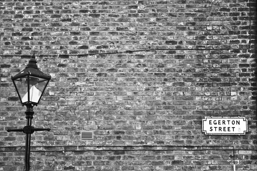 Lamp Photograph - Egerton Street by Georgia Fowler