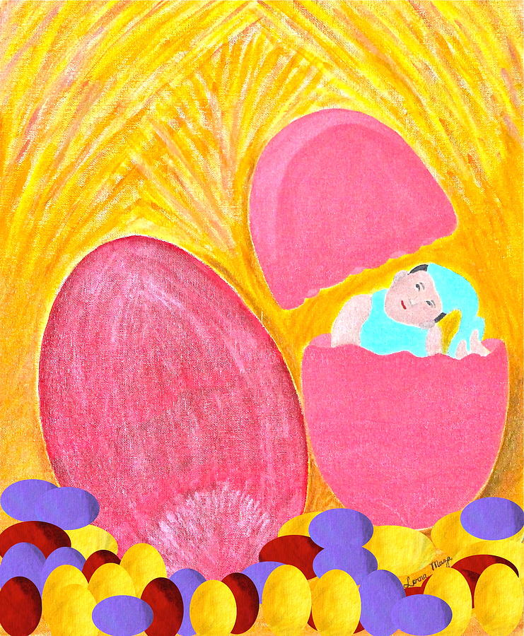 Eggs Painting