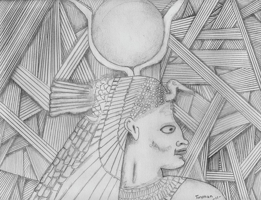 Egypt Drawing - Egypt by Dan Twyman