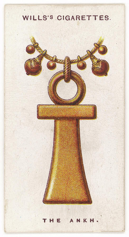 Egyptian Ankh Talisman  Also Known Drawing By Mary Evans