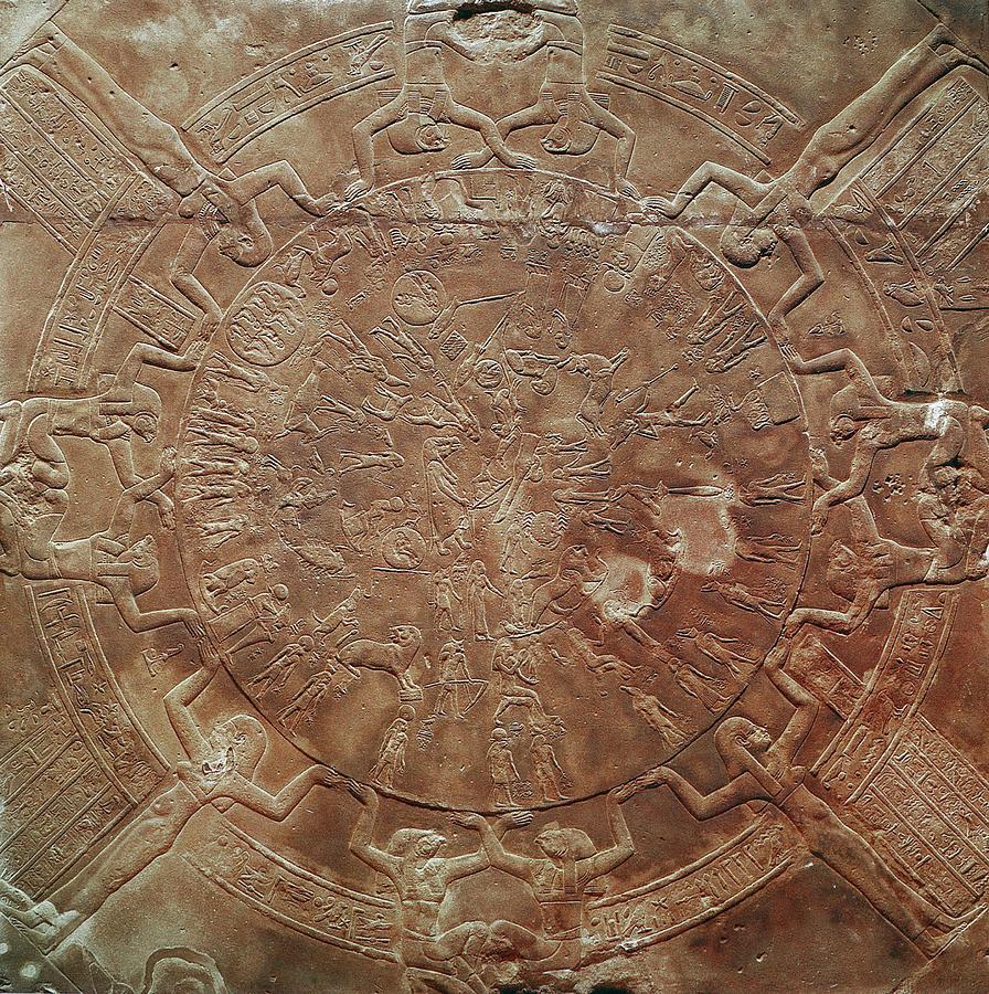 African Photograph - Egyptian Celestial Sphere by Granger