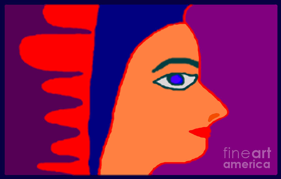 Egyptian Digital Art by Meenal C