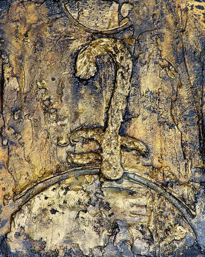 God Painting - Egyptian Symbol for God by Jeffrey Oldham