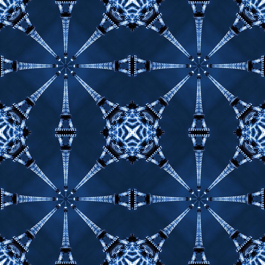Abstract Photograph - Eiffel Art 18 by Mike McGlothlen