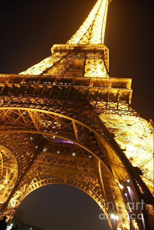 Eiffel Tower Photograph - Eiffel Knew How To Build Them by Alexandra Jordankova