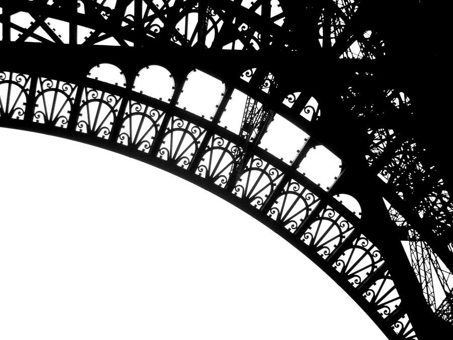 Eiffel Tower Photograph - Eiffel Metal Crochet  by Rita Haeussler