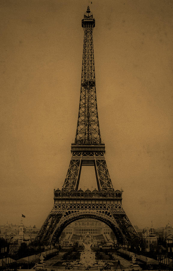 Eiffel Tower 1889 Photograph By Andrew Fare