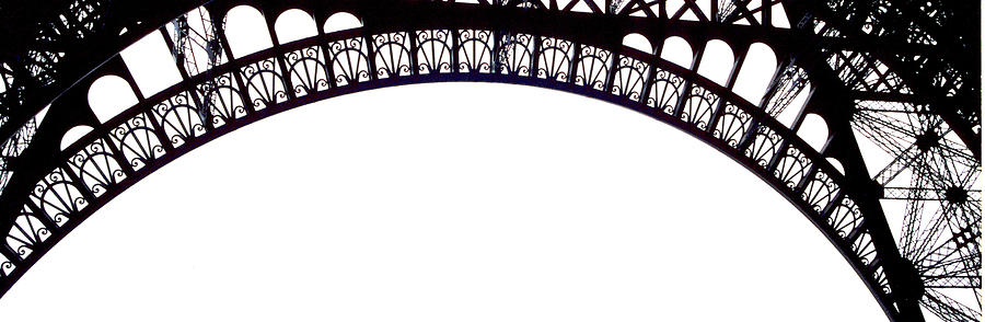 Eiffel Tower Photograph - Eiffel Tower Abstract by Mary Bedy