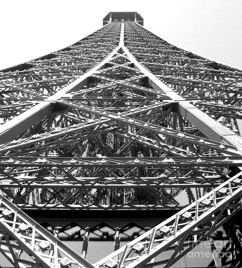 Eiffel Tower Photograph - Eiffel Tower by Andrea Anderegg