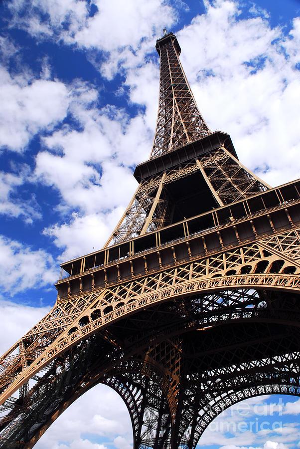 Eiffel Photograph - Eiffel Tower by Elena Elisseeva