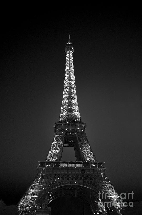 Eiffel Tower Infrared by Scott D Welch