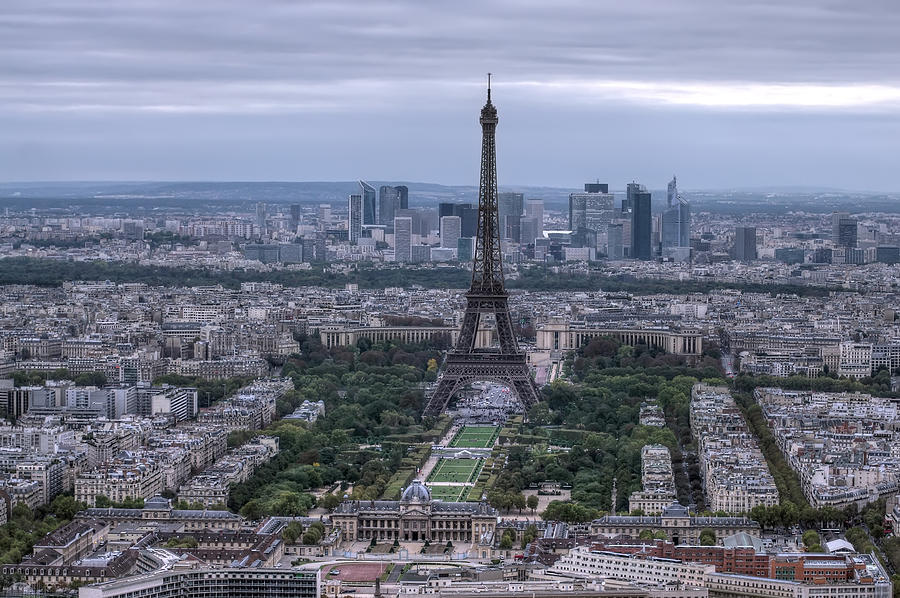 Above Photograph - Eiffel Tower by Ioan Panaite