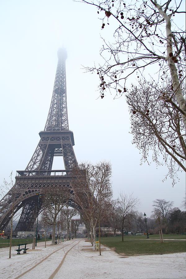 Antique Photograph - Eiffel Tower - Paris France - 011314 by DC Photographer