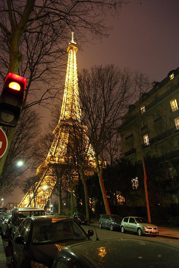Antique Photograph - Eiffel Tower - Paris France - 011317 by DC Photographer