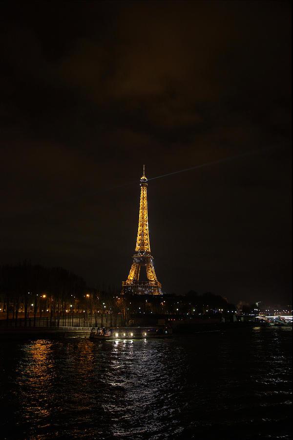 Antique Photograph - Eiffel Tower - Paris France - 011336 by DC Photographer
