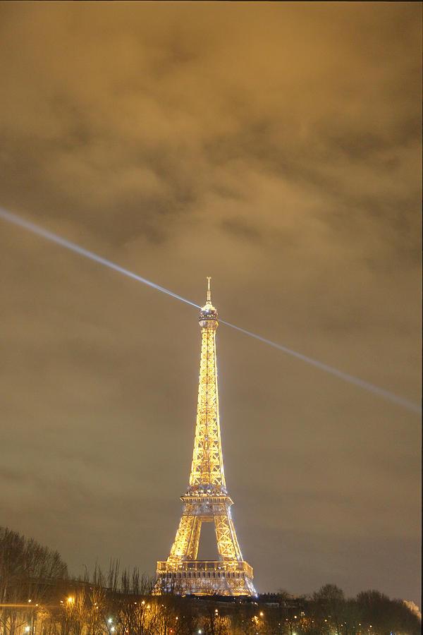Antique Photograph - Eiffel Tower - Paris France - 011345 by DC Photographer