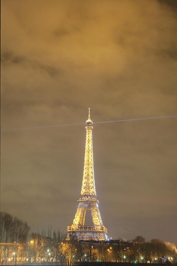 Antique Photograph - Eiffel Tower - Paris France - 011351 by DC Photographer