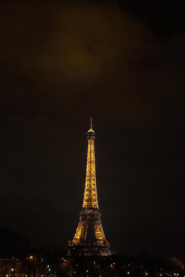 Antique Photograph - Eiffel Tower - Paris France - 011353 by DC Photographer