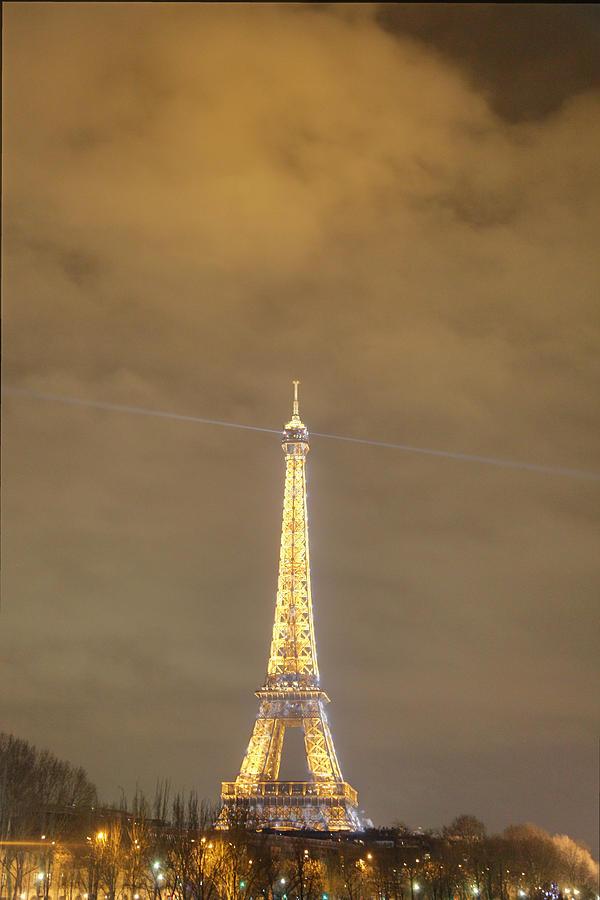 Antique Photograph - Eiffel Tower - Paris France - 011354 by DC Photographer