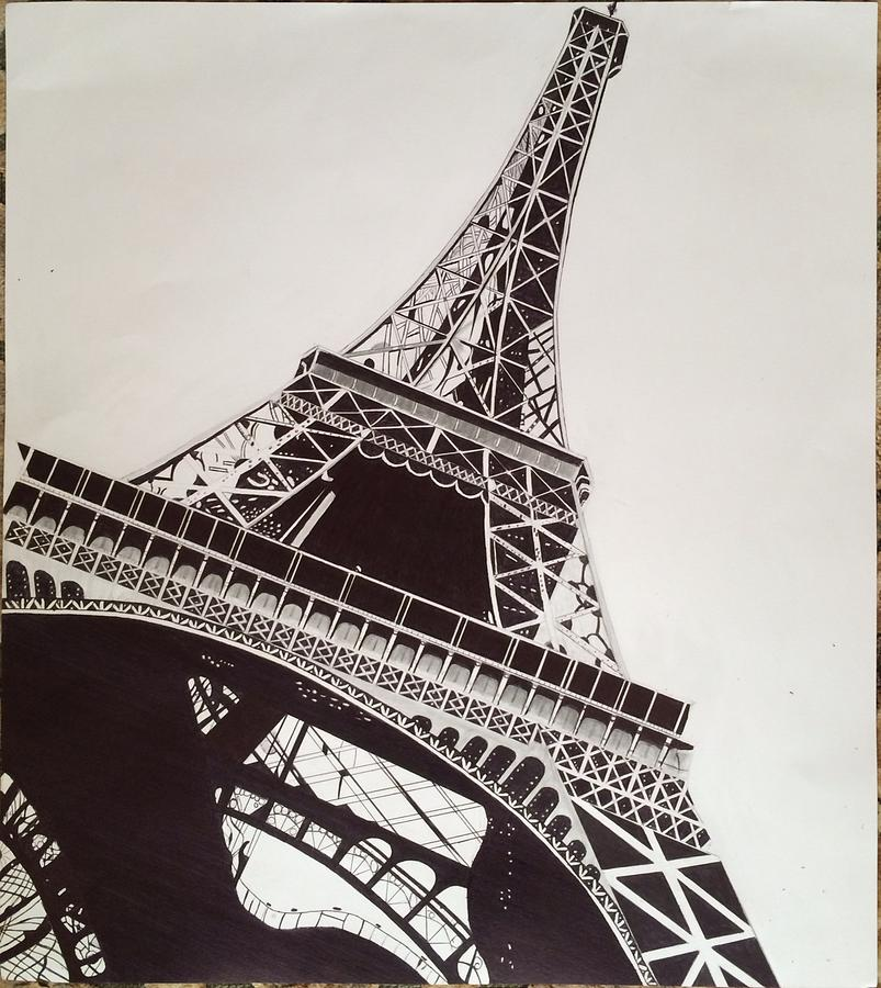 Eiffel tower drawing by ryan jirjis tower drawing eiffel tower by ryan jirjis thecheapjerseys Gallery