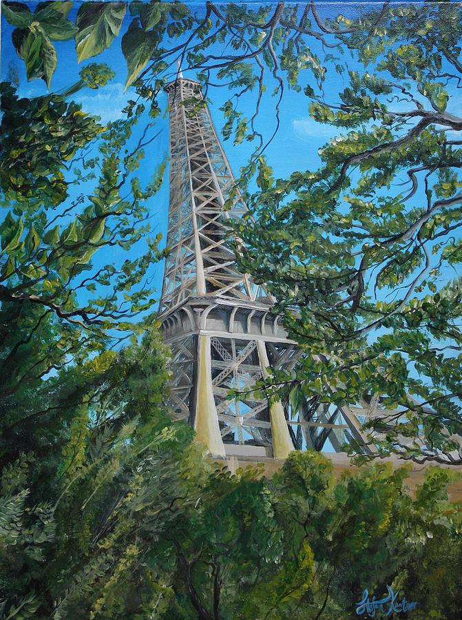 eiffel tower by Stefan Kaertner