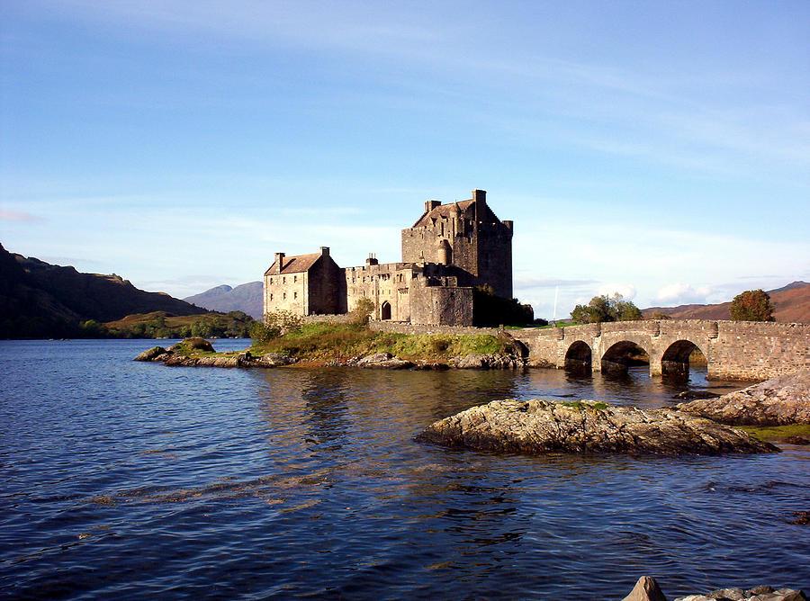 Clan Macrae Photograph - Eilean Donan Castle Kintail Scotland by Rodger Insh