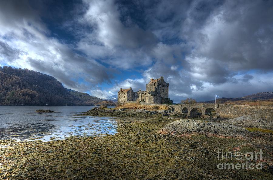 Scottish Castle Photograph - Eilean Donan Castle Scotland by John Kelly