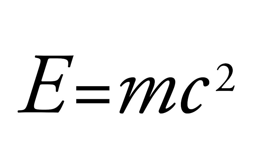 Equation Photograph - Einsteins Mass-energy Equation by Science Photo Library