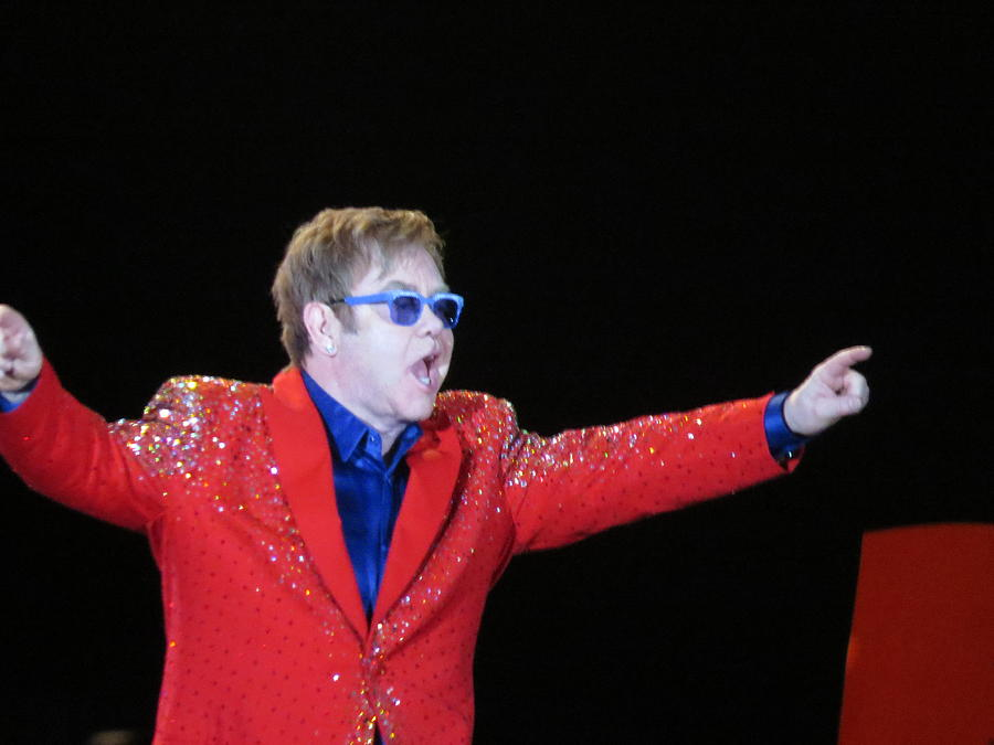 Elton Photograph - Ej Plays Soldout Concert by Aaron Martens