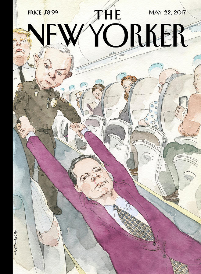 Ejected Painting by Barry Blitt
