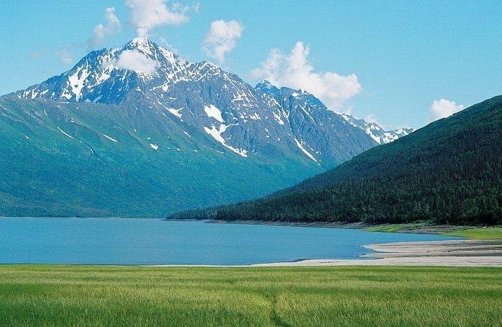 Alaska Photograph - Eklutna Lake by Ginger Bear