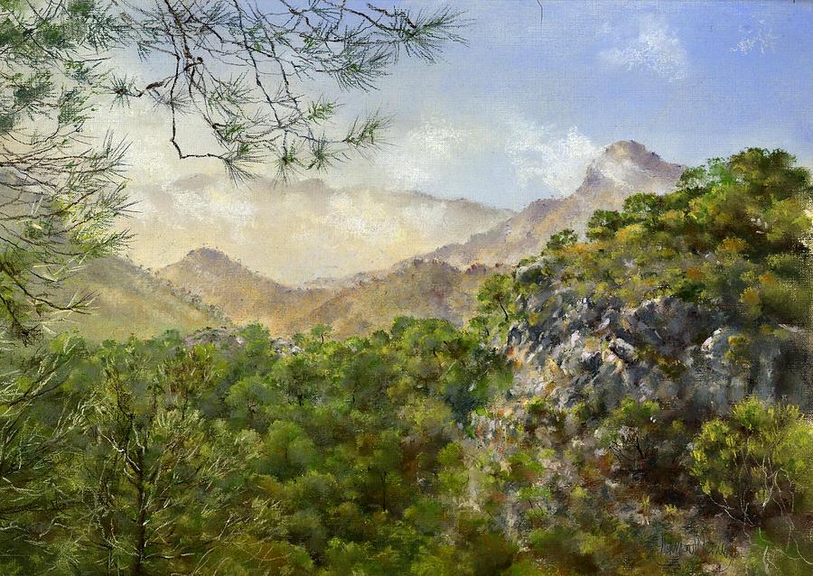 Pastel Painting - El Fuerte by Margaret Merry