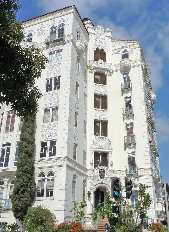 Mirador Photograph - El Mirador Apartment Building by Deborah Smolinske