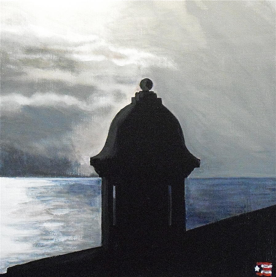 El Morro Painting - El Morro 2 by Melissa Torres