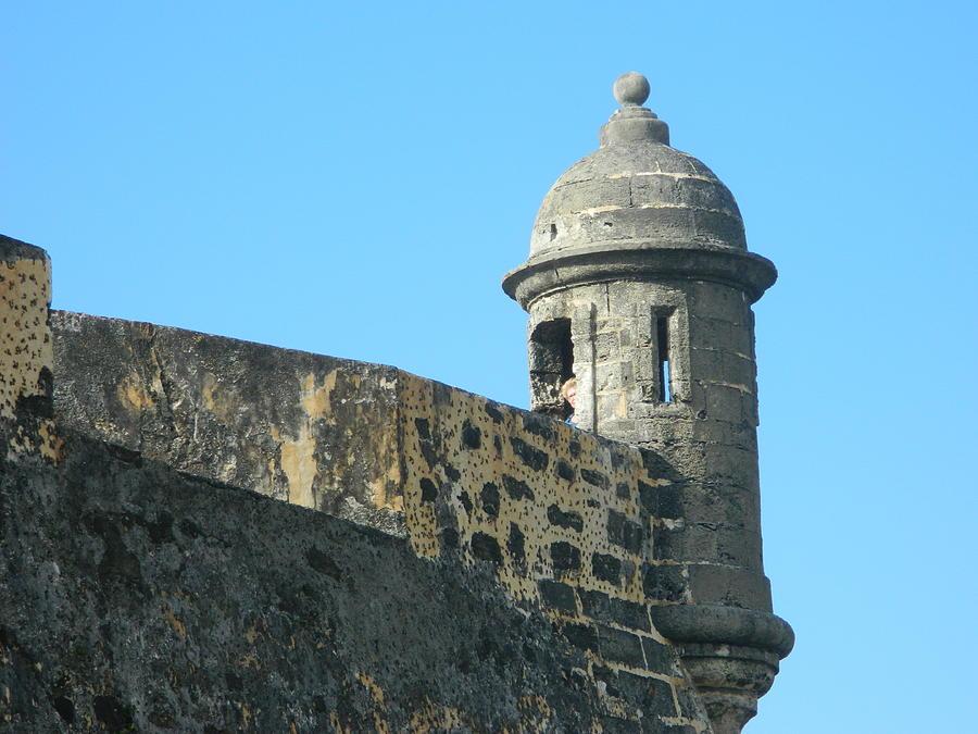 Landscape Photograph - El Morro Parapet 1 by David  Ortiz