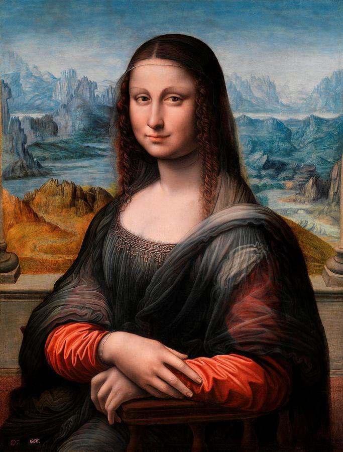El Prado La Gioconda by Leonardo da Vinci