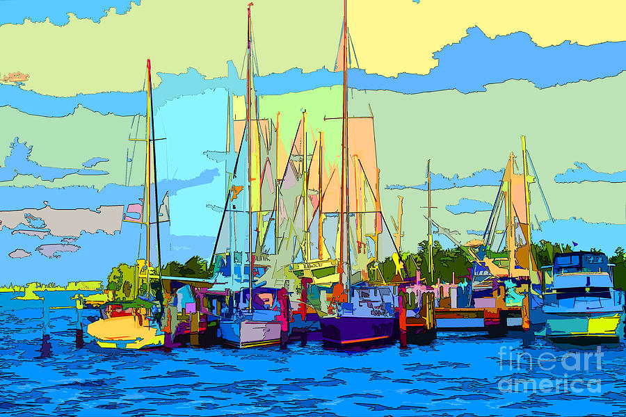 Boats Photograph - El Refugio by Keri West