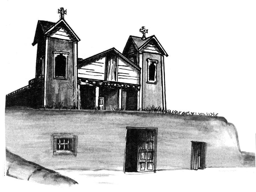 El Santuario Drawing