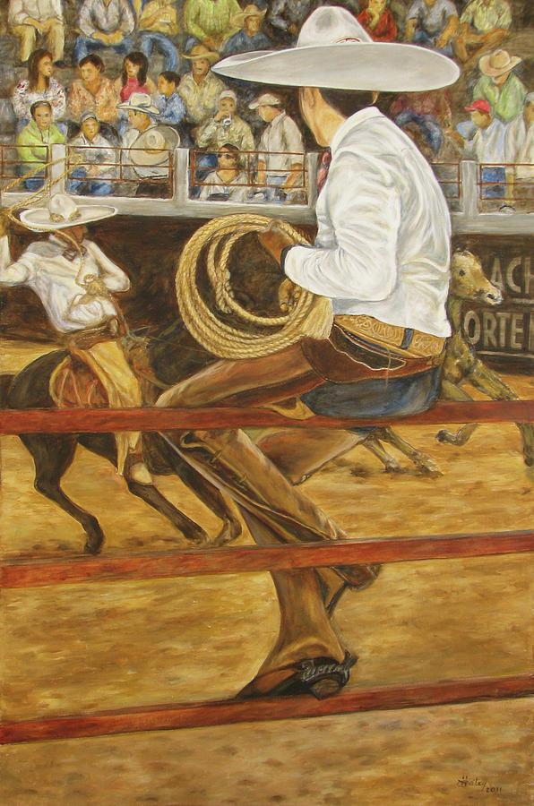 El Vaquero Que Ata by Pat Haley