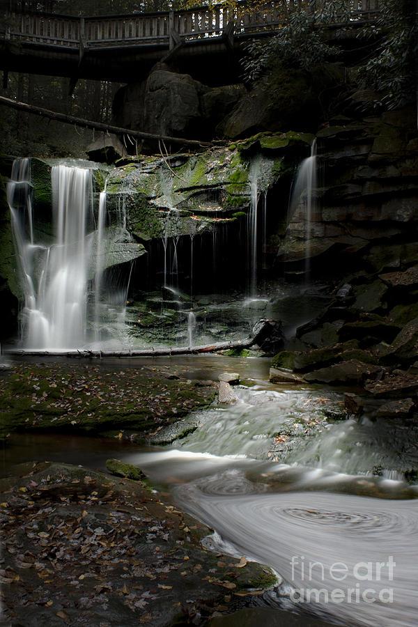 Elakala Falls Photograph - Elakala Falls On The Elakala Trail by Dan Friend