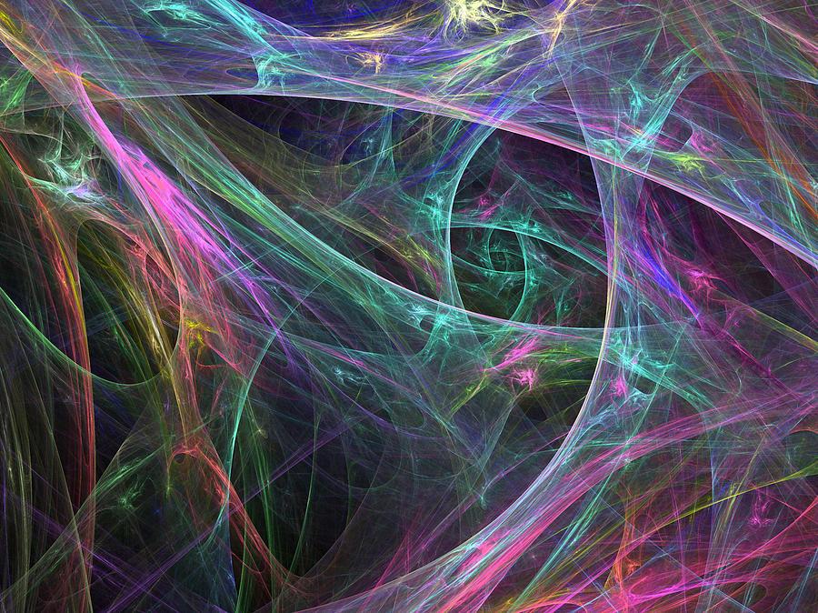 Web Digital Art - Elasticity-01 by RochVanh