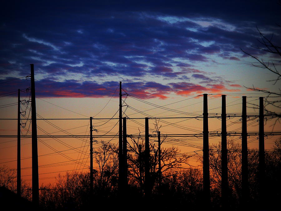 Electric Sunset Two by James Granberry