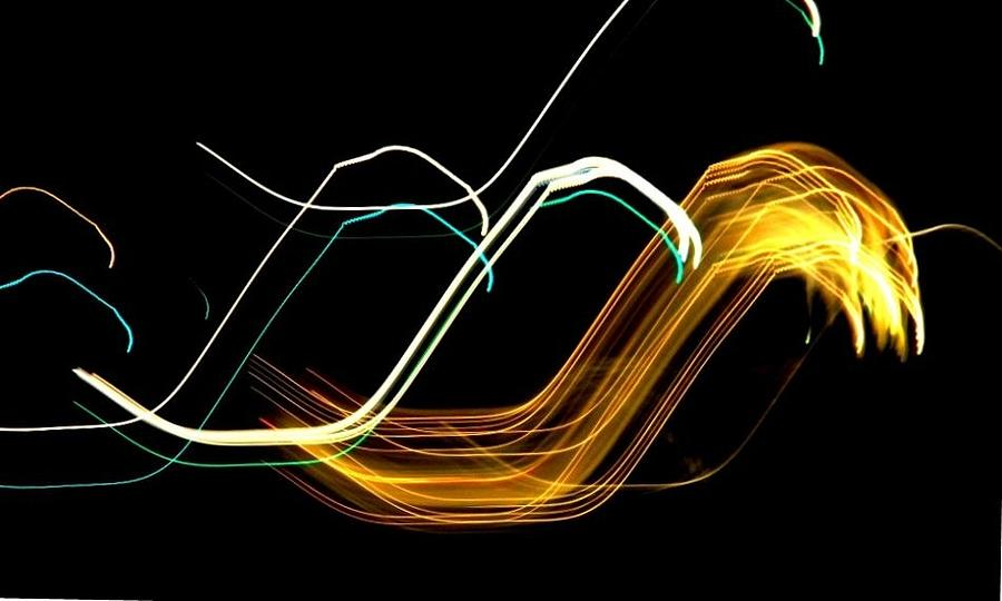Waves Photograph - Electric Waves by Stefano Filesi